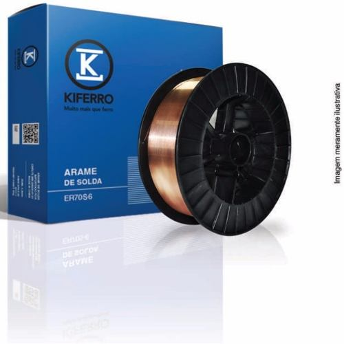 Arame Mig 0,8mm 15kg - Kiferro