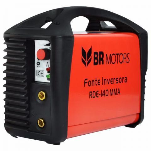 Inversora de Solda RDE 140 MMA C/ Maleta - BR Motors