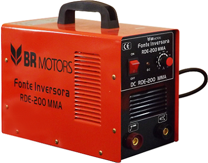 Inversora de Solda RDE 200 MMA - BR Motors