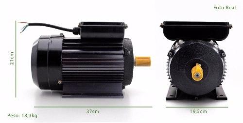 Motor Elétrico 2 Cv 2 Pólos 3465 Rpm Bivolt - Lynus