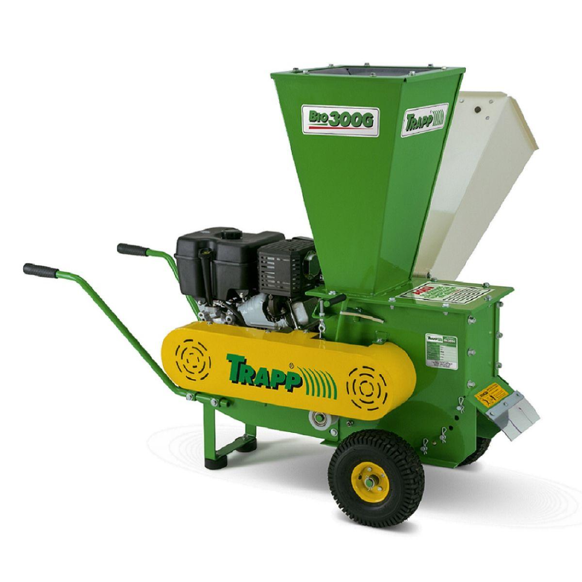 Triturador Orgânico/Compostagem Gasolina 13,5 HP BIO 300 - Trapp