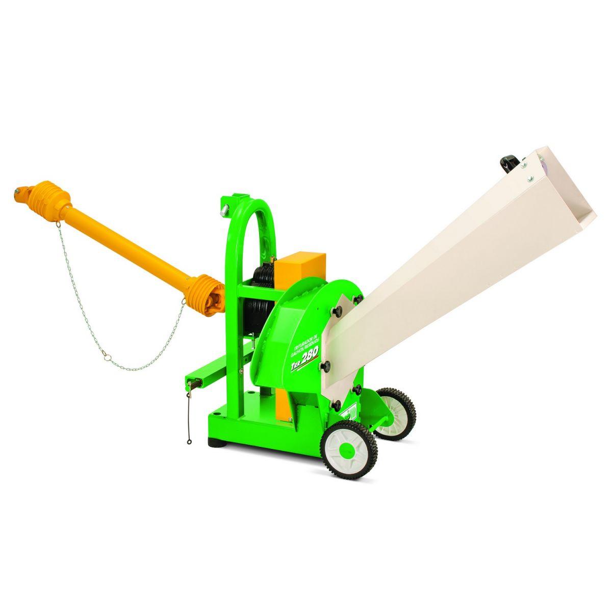 Triturador de Galhos Resíduos - TRR 280 Acopl. Trator - Trapp