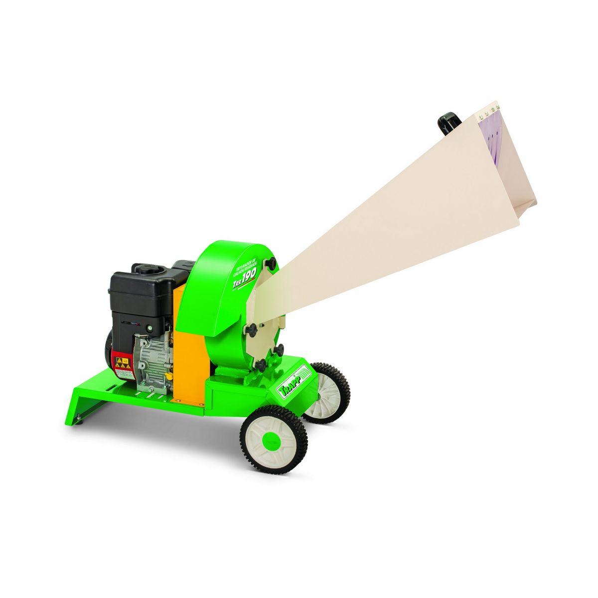 Triturador de Galhos e Resíduos TRR 190 6hp Gasolina - Trapp
