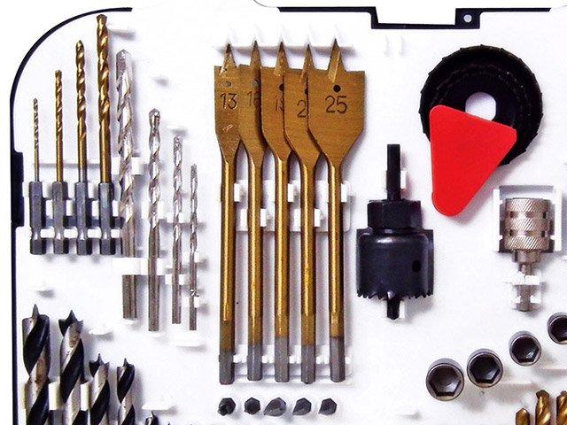 Jogo de Brocas e Acessórios 92 peças Mod. C9201 - Br Tools