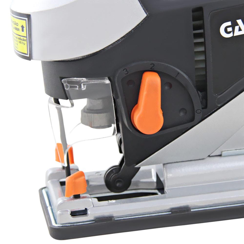 Serra tico tico pendular Mira laser 800W  - Gamma