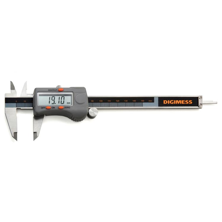 Paquímetro Digital Dígitos Grandes 150mm 0.01mm  - Digimess