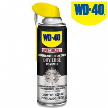 Óleo Lubrificante WD-40 Specialist Spray Dry Lube 400ml