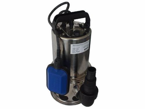 Bomba D´Água Submersivel Inox 1/3cv Água Suja 110v - Somar