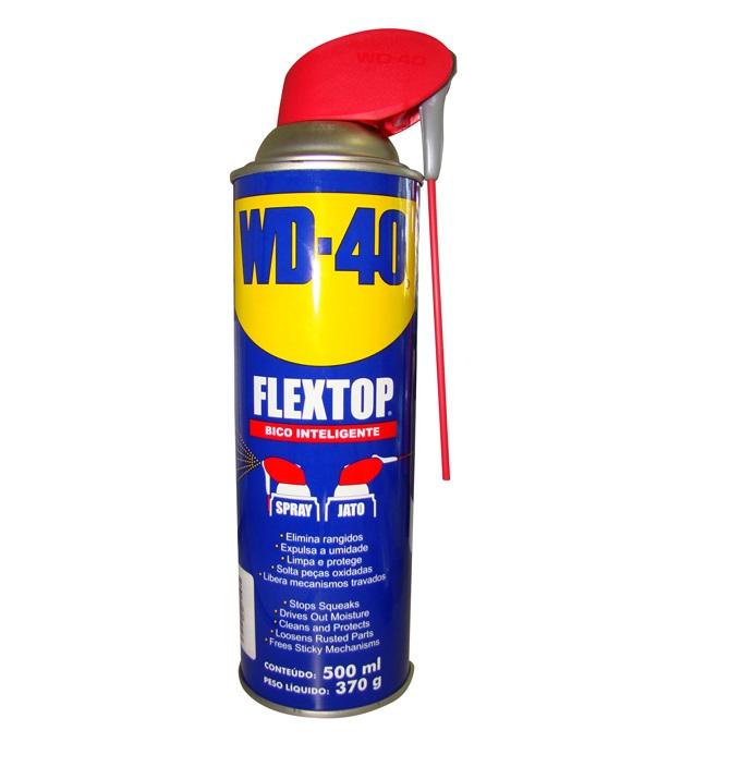 Desingripante Anti Corrosivo FlexTop 500ml Bico Inteligente - WD-40
