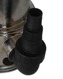Bomba D´ Água Submersivel Inox 1/3cv Água Suja 220v - Somar