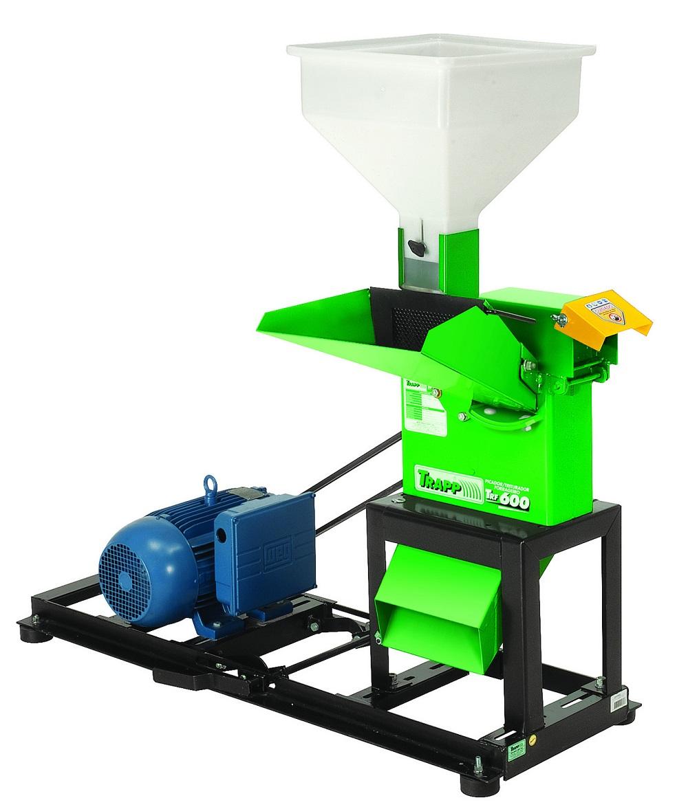 Triturador Forrageiro - TRF 600 5,0cv 60hz 220/380v Trifásico - Trapp
