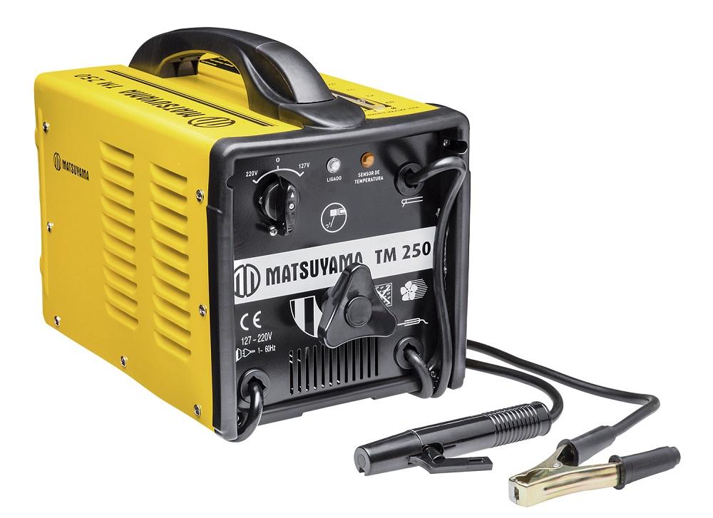 Transformador para Solda Bivolt TM250 - Matsuyama