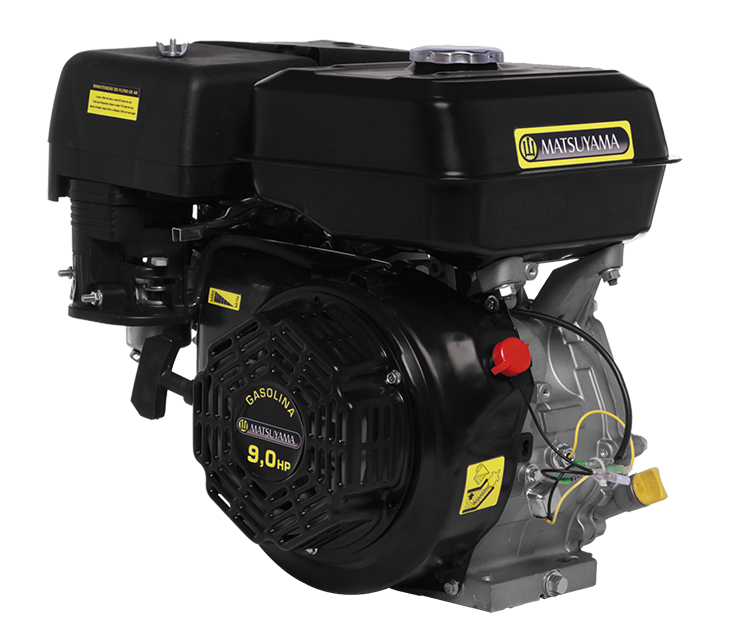 Motor à Gasolina Horizontal 9.0hp 270cc 4 Tempos - Matsuyama