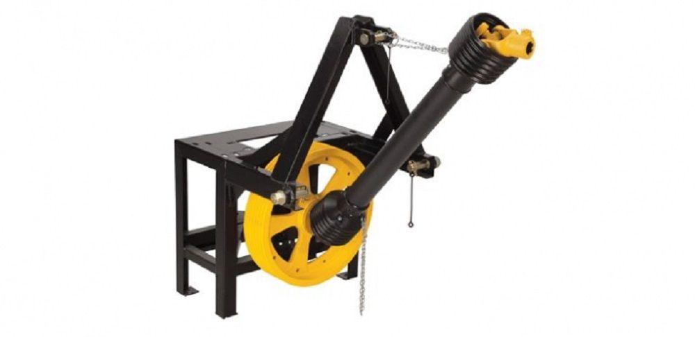 Acoplamento Ensiladeiras ES-500/550/600/650 TRAPP P/ Trator  AT-3