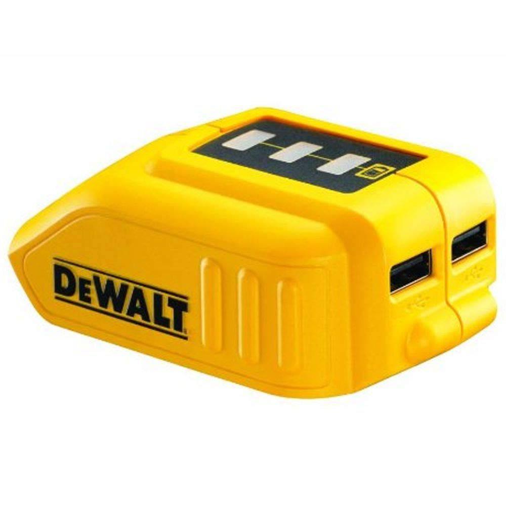 Adaptador USB para Bateria Li-Ion 12v/20v MAX  Dewalt