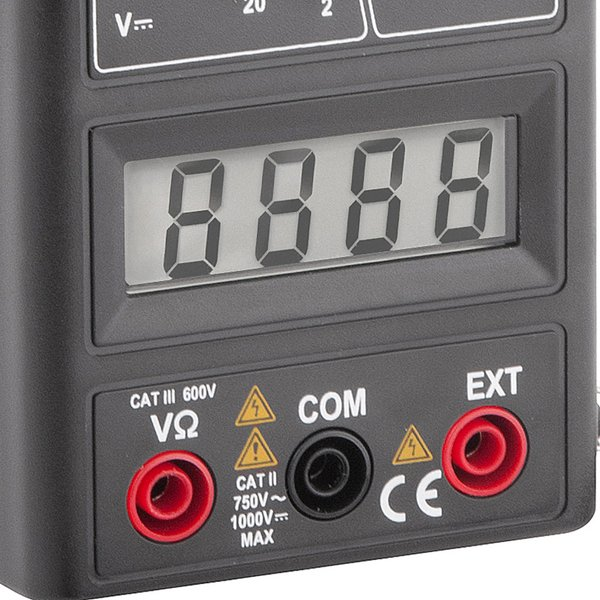 Alicate amperímetro digital AAV 1000 VONDER