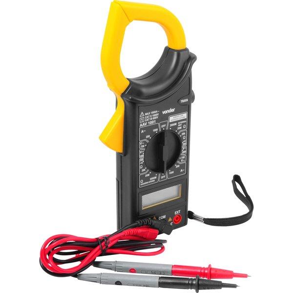 Alicate amperímetro digital AAV 1001 VONDER