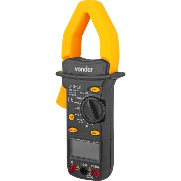Alicate amperímetro digital AAV 2000 VONDER