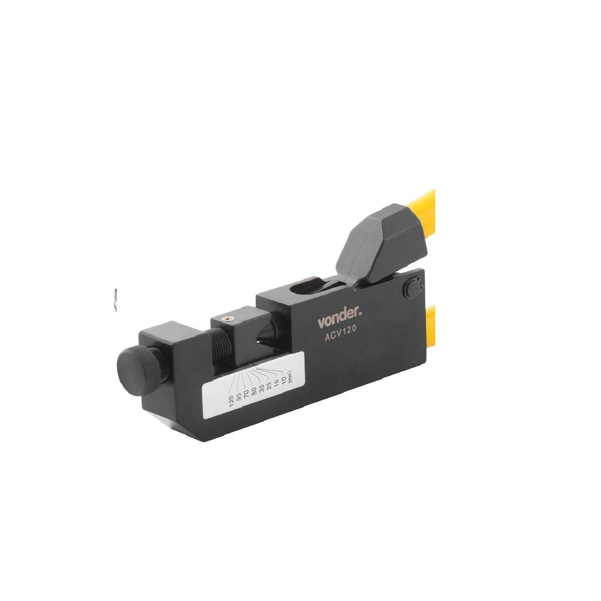 Alicate crimpador ACV 120 VONDER