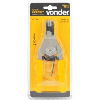 Alicate Desencapador de fios automático AD 125 Vonder