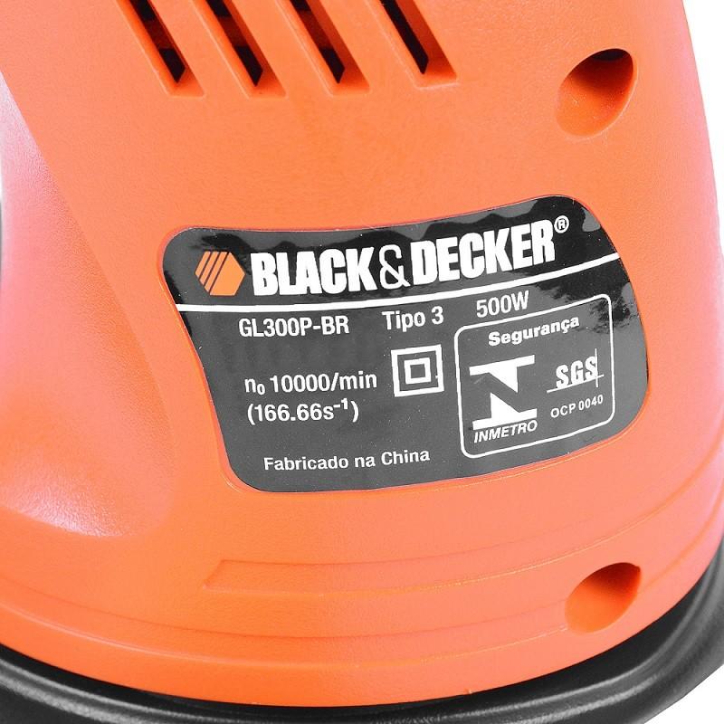 Aparador de Grama 500w - Black Decker