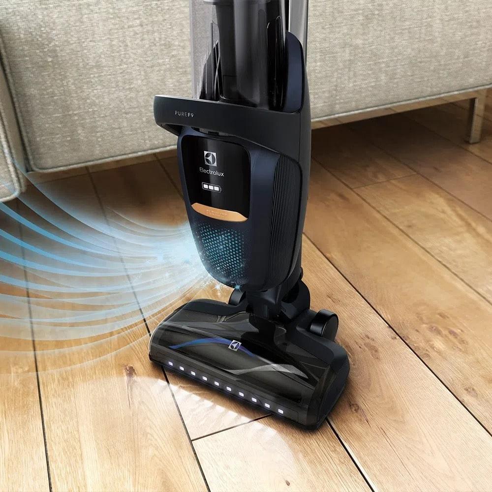 Aspirador de Pó Vertical 32,4V Pure F9 Electrolux sem Fio Mangueira Flexível(SH1F9) Bivolt