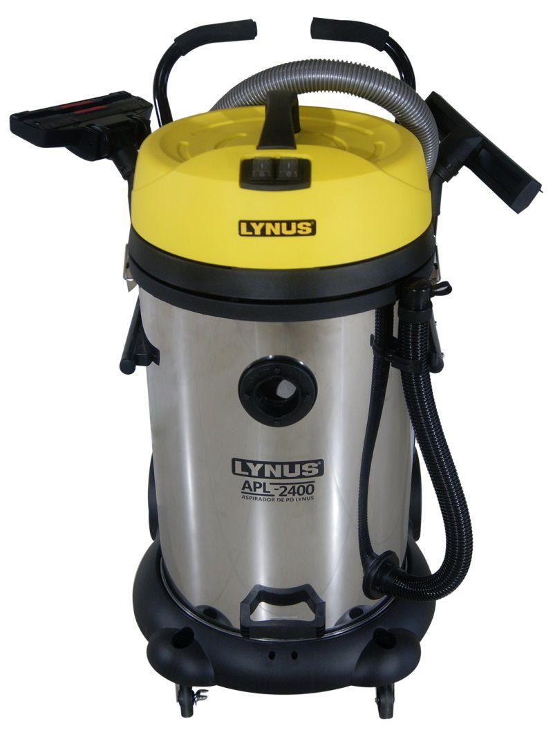 Aspirador de Sólidos e Líquidos Profissional APL 2400 75L Lynus