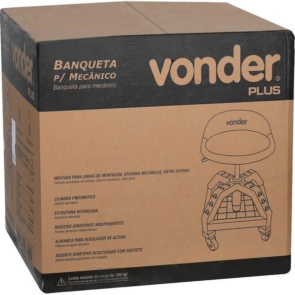 Banqueta Movel para mecânico VONDER PLUS