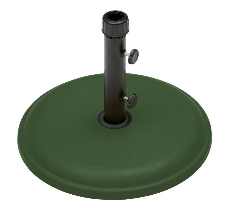 Base em Concreto Expandido 22Kg Verde Para Ombrellone BelLazer