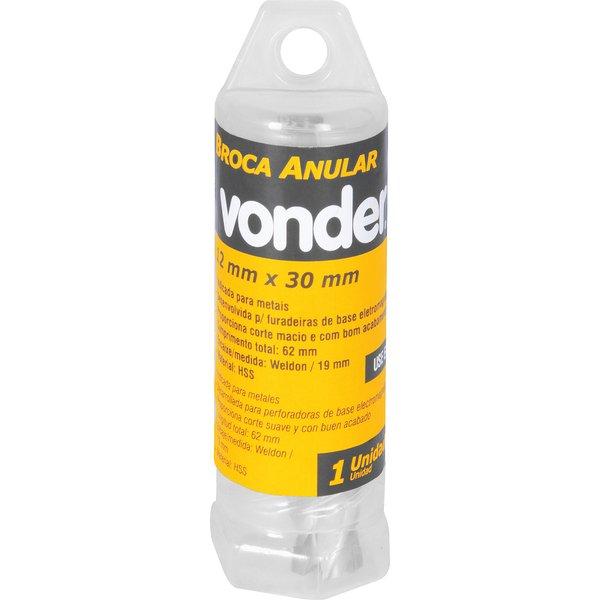 Broca Anular Encaixe Weldon 12mm x 30mm VONDER
