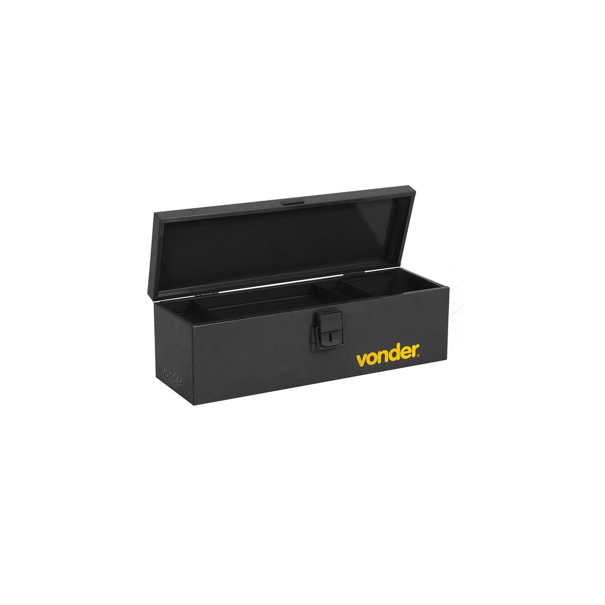 Caixa metálica P/Ferramentas Tipo Baú C/Bandeja 50cm VONDER