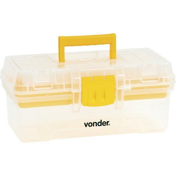 Caixa Plástica Bandeja Removível CPV 0300 - Vonder