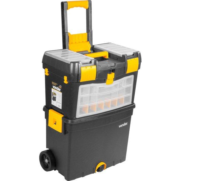 Caixa plástica com rodas CRV 0400 VONDER