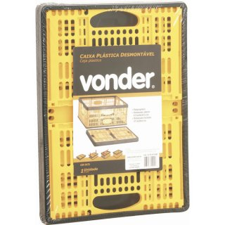 Caixa Plástica Desmontável CDV 0475 Vonder