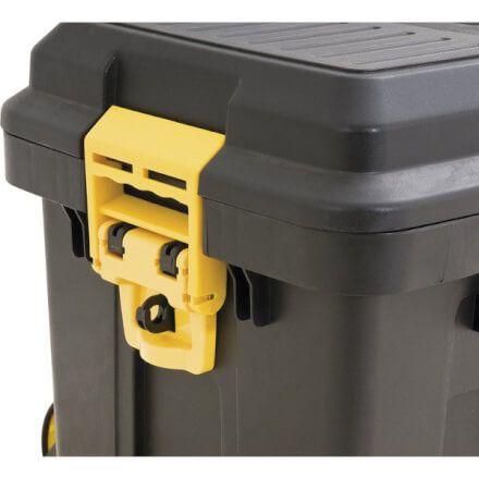 Caixa Plástica para Ferramentas com Roda e Alça Telescópica