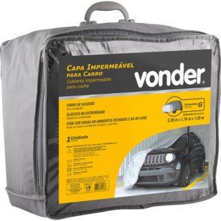 Capa Impermeável para carro tamanho G Vonder