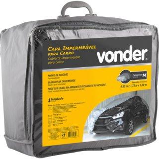 Capa Impermeável para carro Tamanho M Vonder