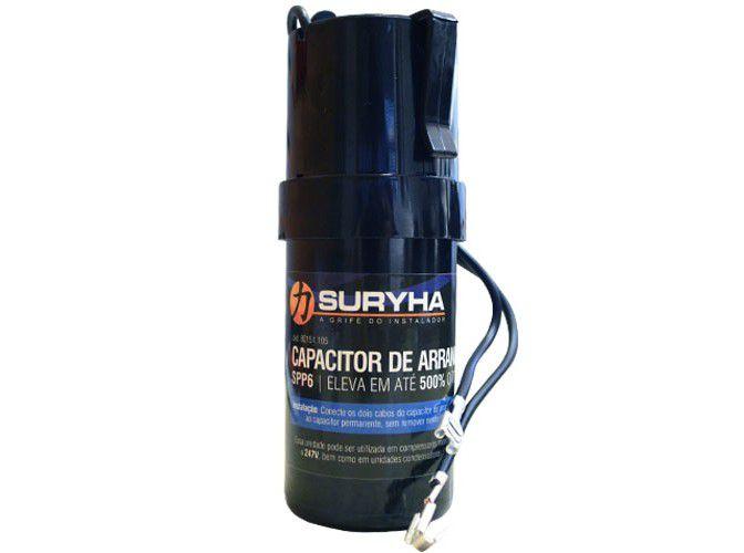 Capacitor de Arranque SPP6 Alta Potência Suryha