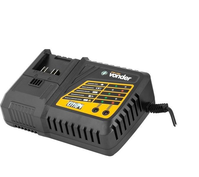 Carregador de bateria 18V linha intercambiável carregamento rápido ICBV 1806 VONDER
