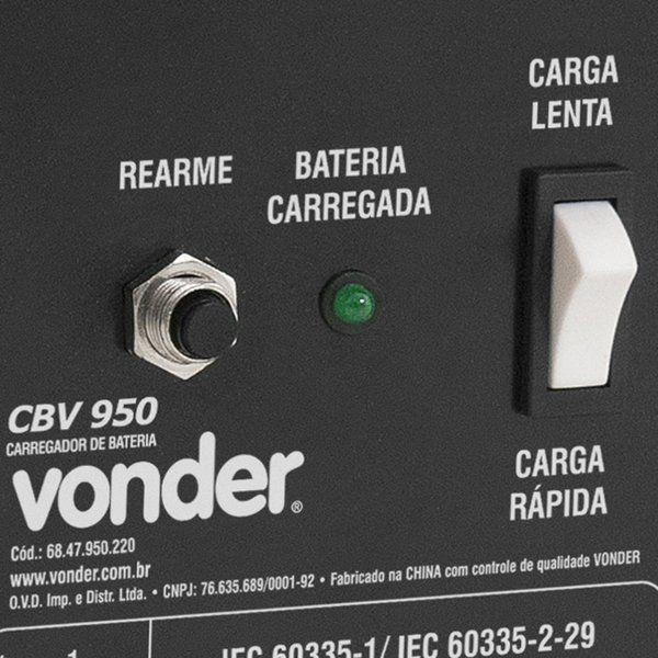Carregador de Bateria CBV 950 Vonder 220v