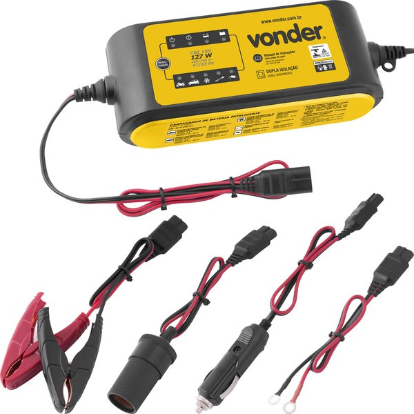 Carregador inteligente de bateria 220 V~ CIB 160 VONDER