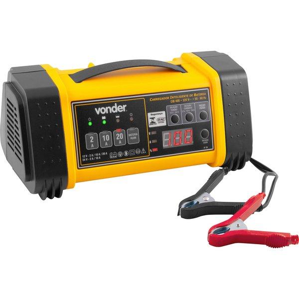 Carregador inteligente de bateria 220 V~ CIB 400 VONDER