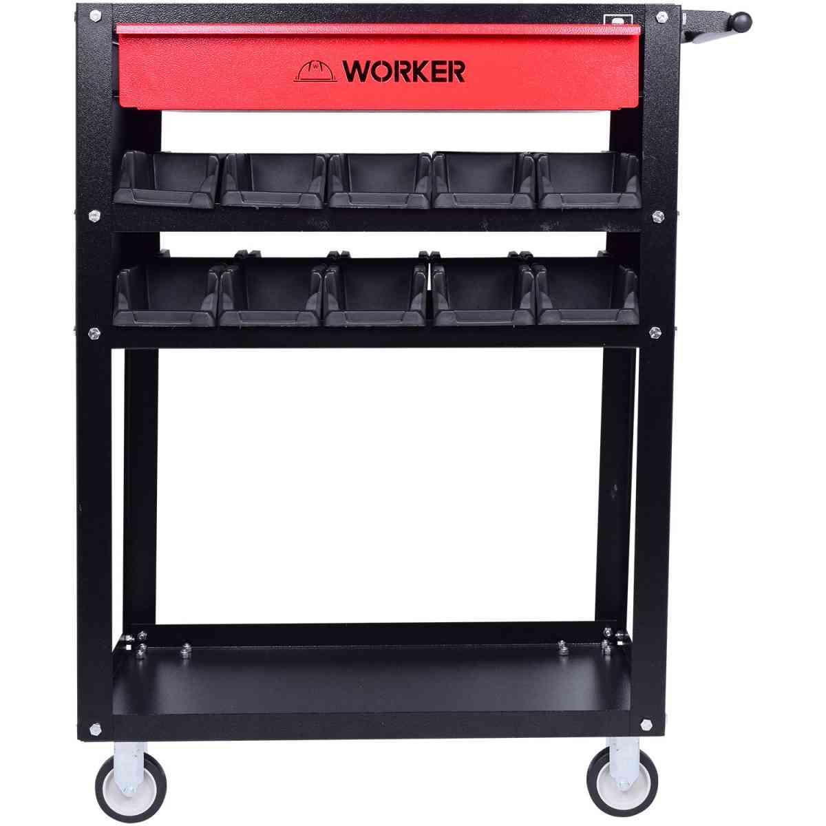 Carrinho Oficina com Gavetas para 80Kg Worker