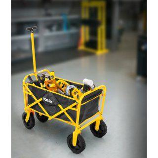 Carrinho para carga dobrável com bolsa 60kg VONDER