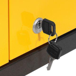 Carrinho para ferramentas, desmontável, semifechado, com 1 gaveta, VONDER