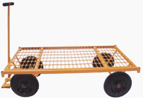 Carrinho Plataforma 600kg Grade De Aço Mp-600g Lynus