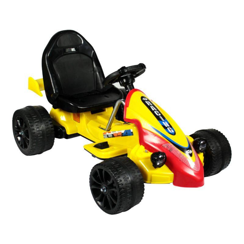 Carro Elétrico Formula Esporte 12V Amarelo BelFix