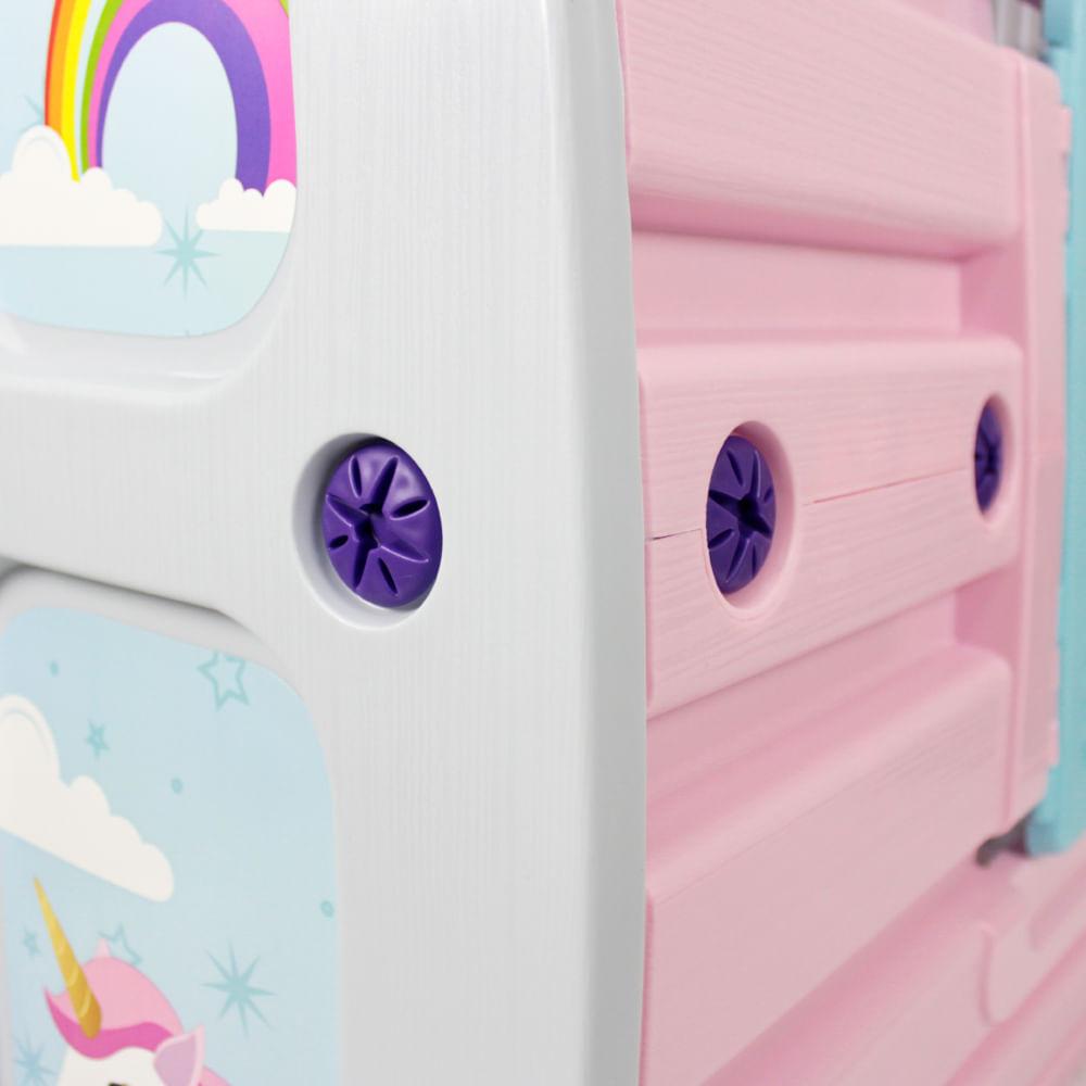 Casinha de Brinquedo Unicórnio Bel