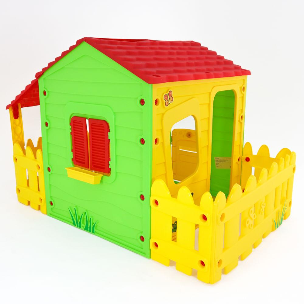 Casinha Fazenda de Brinquedo com Varanda Bel