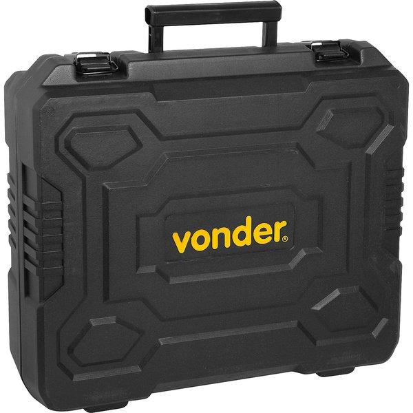 """Chave de impacto bateria intercambiável de 18V encaixe de 1/2"""" sem bateria e sem carregador ICIV 1807 VONDER"""